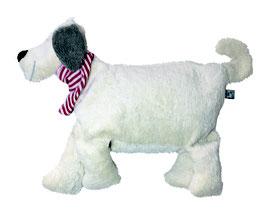 """Bio Kuschelkissen """"Hund"""",naturweiss"""