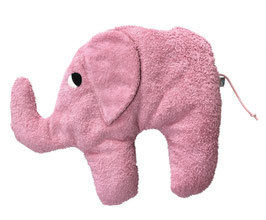 "Bio Kuschelkissen / Nackenkissen  ""Elefant"" rosa"