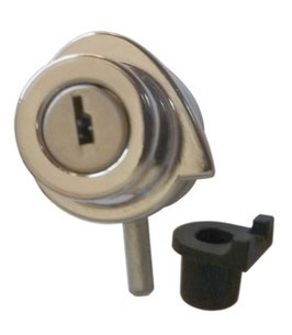 Vitrine : Verrou pour porte batante ou coulissante AGA 357