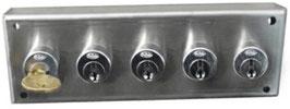 Échangeur avec 5 clés d'interverrouillage AGA1405