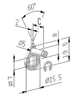 Cames à plots carré 7