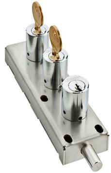 Verrou d'interverrouillage avec échange de clés 2 pour 1 AGA1208