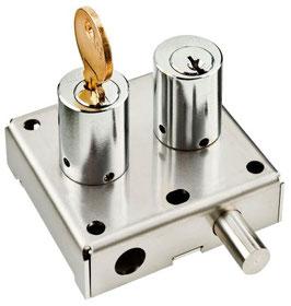 Verrou d'interverrouillge avec échange de clé AGA1226
