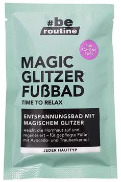 #be routine Magic Glitzer Fußbad