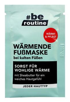 #be routine Wärmende Fußmaske