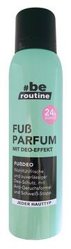 #be routine Fuß Parfum