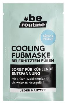 #be routine Cooling Fußmaske