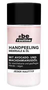 #be routine Handpeeling Meersalz