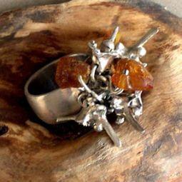 Amber Ring SDR14