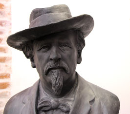 Buste en bronze de Frédéric Mistral