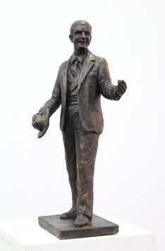 Maquette Carlos Gardel, Bronze