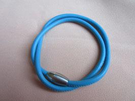 Armband aus Nappaleder mit Magnetverschluss 4mm