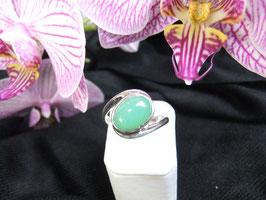Ring, Silberring Chrysopras