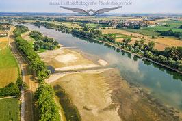 Donau Niedrigwasser 2015