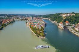 Drei Flüsse Eck Passau