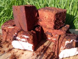 Guimauve fraise-chocolat