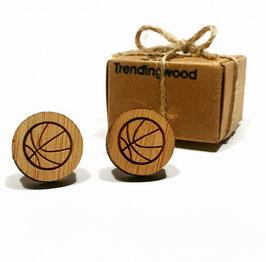 Gemelo de madera, Balón de Baloncesto