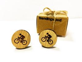 Gemelo de madera, Ciclista