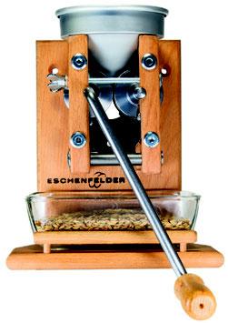 Korn-Quetsche Wandmodell Alutrichter, inkl. Glasschale Flocker Eschenfelder