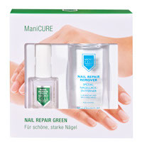 NAIL REPAIR GREEN MANICURE SET (2 Prod.)