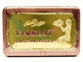 Art-nouveau blik paars van Tjoklat - Camée Pastilles uit Amsterdam #1