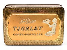 Art-nouveau blikje rond van Tjoklat - Camée Pastilles uit Amsterdam #7