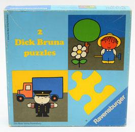 2 Dick Bruna puzzles Tuinman en Politieagent