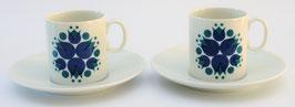 2 kop en schotels (espresso) Rosette van Thomas Germany
