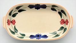 Zuurschaaltje boerenbont model Twente decor 418 van Societe Ceramique