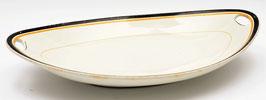 Art-deco broodschaal van Societe Ceramique Maestricht