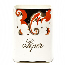 Kruidenpotje 'Peper' decor Faust van Societe Ceramique