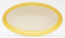 Vleeswarenschaaltje Maas geel van Petrus Regout
