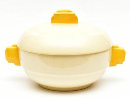 Dekschaal model Dordrecht crème/geel van Societe Ceramique #3