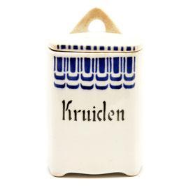 """Voorraadpotje """"Kruiden'' decor SB 69 8 van Societe Ceramique"""