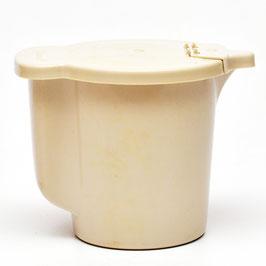 Melkkannetje Tupperware crème