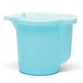 Pastel melkkannetje Tupperware lichtblauw