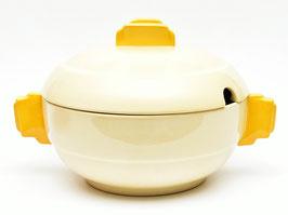 Terrine model Dordrecht crème/geel van Societe Ceramique #2