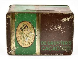 Blikje De Gruyter's Cacao - Groenmerk