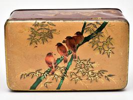 Blik met bamboe en vogels #2
