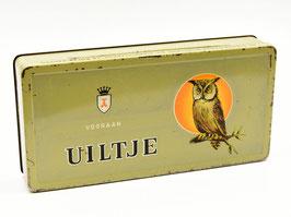 """Blik Uiltje Vooraan - N.V. Sigarenfabriek """"La Bolsa"""" Kampen"""