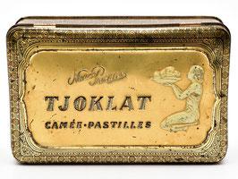 Art-nouveau blik van Tjoklat - Camée Pastilles uit Amsterdam #9