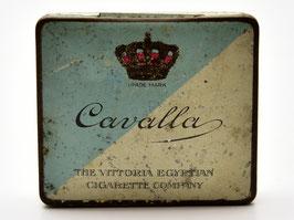 Blikje Cavalla - The Vittoria Egyptian - Cigarette Company