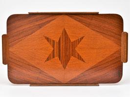 Art-deco houten dienblad #2