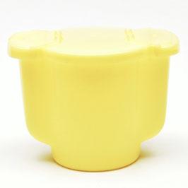 Pastel strooier Tupperware lichtgeel