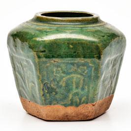 Gemberpot groen #129
