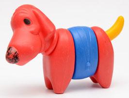 Hond van Tupperware