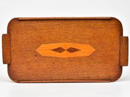 Art-deco houten dienblad #1