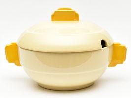 Terrine model Dordrecht crème/geel van Societe Ceramique #1