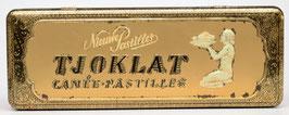 Art-nouveau blik van Tjoklat - Camée Pastilles uit Amsterdam