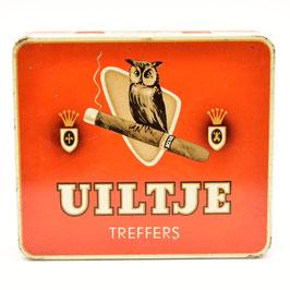 "Blik Uiltje Treffers- N.V. Sigarenfabriek ""La Bolsa"" Kampen (Holland)"